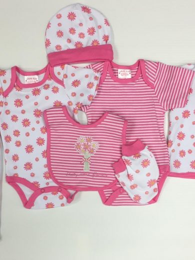 8-PIECE BABY GIRL LAYETTE