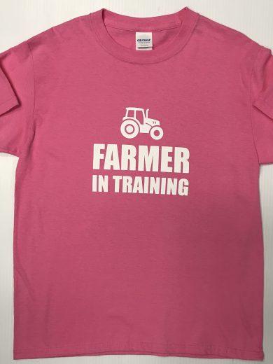 'Farmer In Training' Children's T-shirt