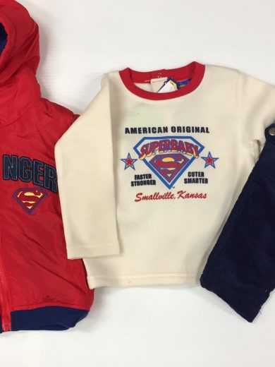 SUPERBABY 3-PIECE OUTFIT