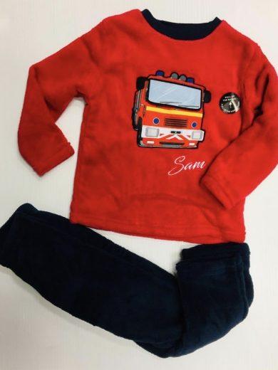 Fireman Sam Fleece Pyjamas