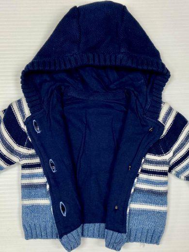 Baby boy hooded cardigan