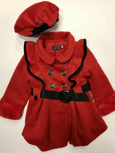 GIRL'S COAT AND BERET