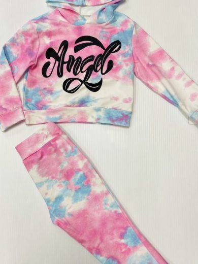 GIRL'S ANGEL TRACKSUIT