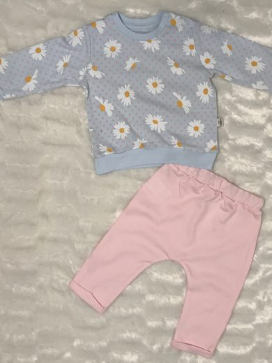 BABY GIRL COTTON SUIT