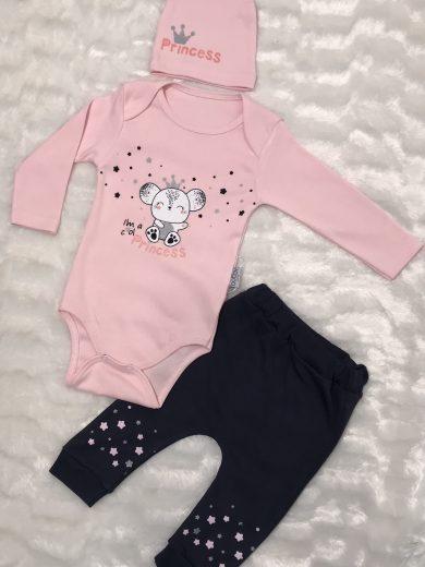 BABY GIRL 3-PIECE SET