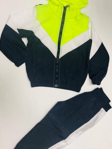 BOY'S SHELL HOODED TRACKSUIT