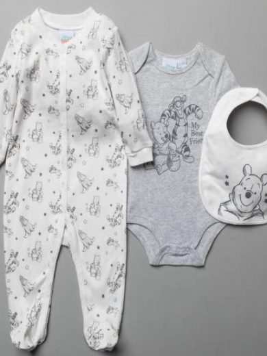 DISNEY BABY 3-PIECE GIFT SET
