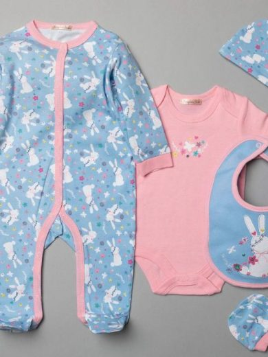 5-PIECE GIRLS LAYETTE
