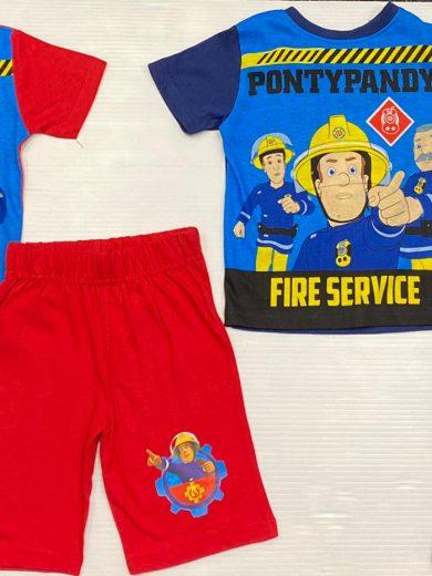 Fireman Sam 2-Piece Outfit