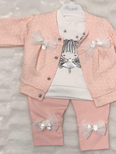 BABY GIRL BOWS 3-PIECE