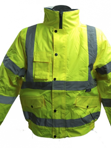 MEN'S HI-VIS BOMBER JACKET
