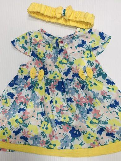 BABY FLORAL DRESS SET