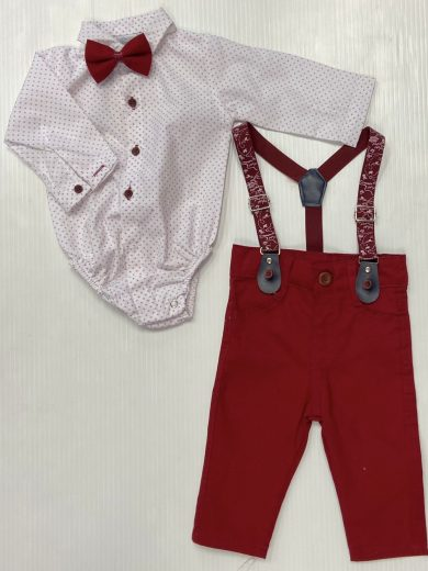 BABY BOY'S 4-PIECE OUTFIT