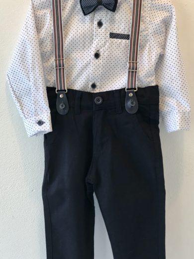INFANT BOY'S 4-PIECE OUTFIT