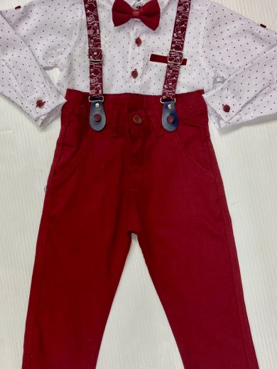 BOY'S 4-PIECE OUTFIT