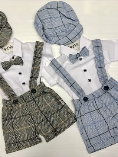 BABY BOY'S  SHORTS 4-PIECE