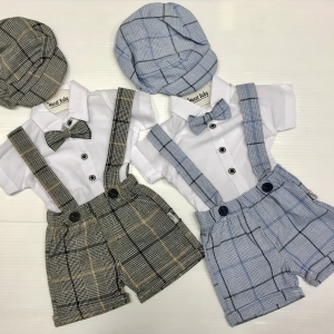 BABY BOY'S SHORTS 4-PIECE