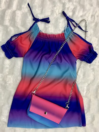 DRESS & BAG SET