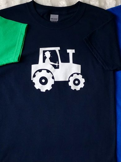 CHILDREN'S TRACTOR T-SHIRTS