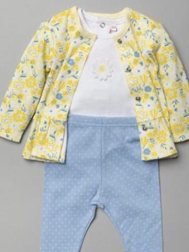 BABY GIRL 3-PIECE OUFIT