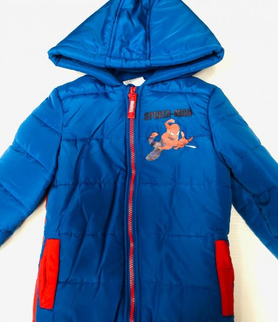 SPIDERMAN QUILTED JACKET