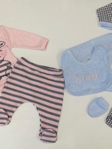 BABY 5-PIECE OUTFIT